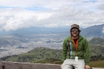 Atop Pichincha overlooking Quito